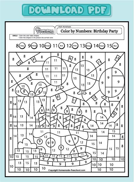 Fun Kid Worksheet