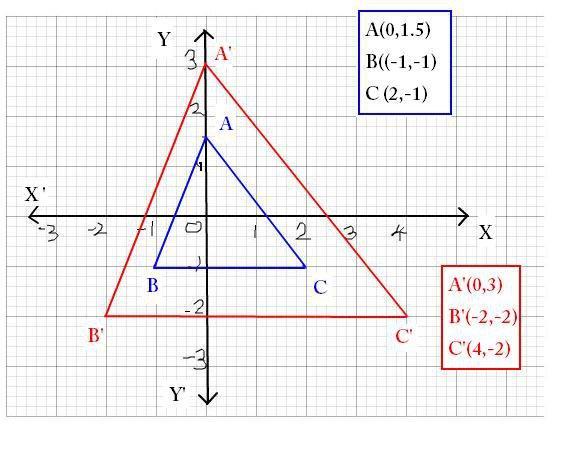 Geometry Dilations Worksheet Free Worksheets Library