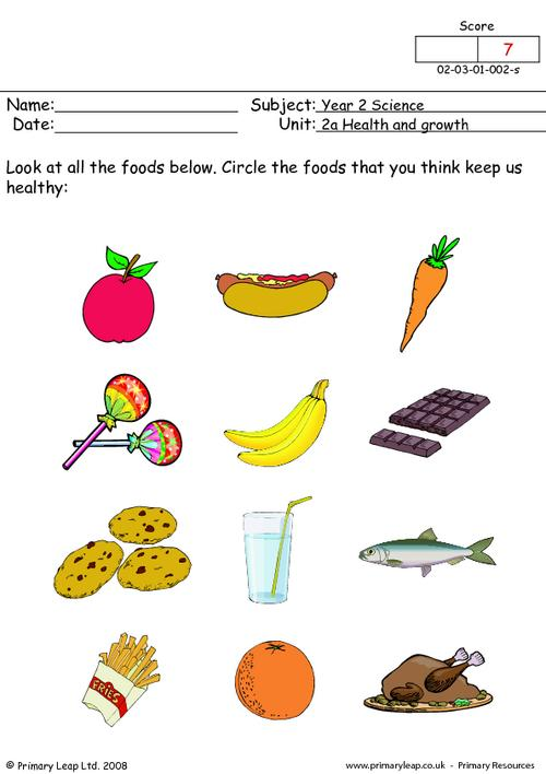 Healthy Eating For Kids Worksheets Free Worksheets Library