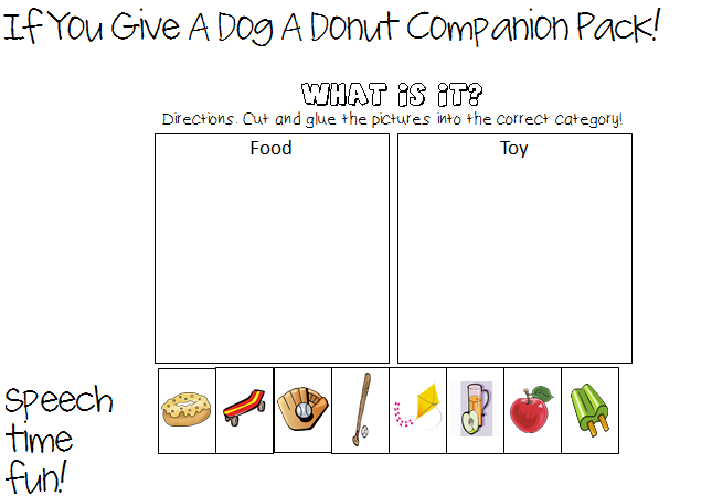 If You Give A Dog A Donut  Storybook Companion Pack!