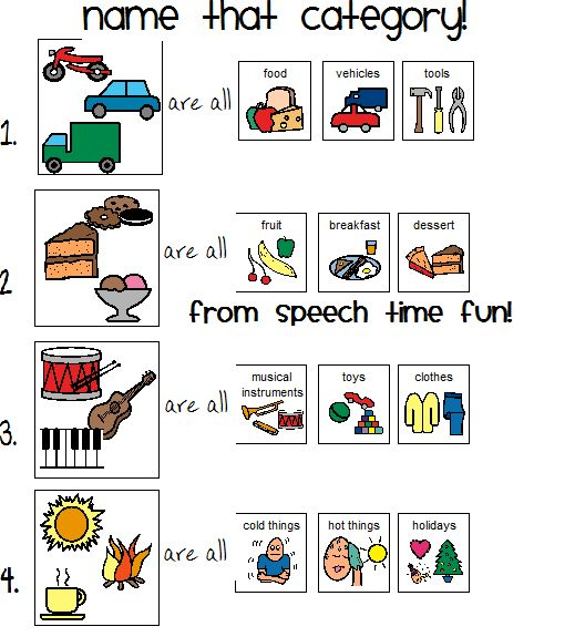 Image Result For Name That Category Worksheet