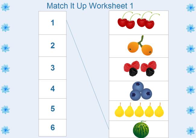 Kindergarten Math Worksheet