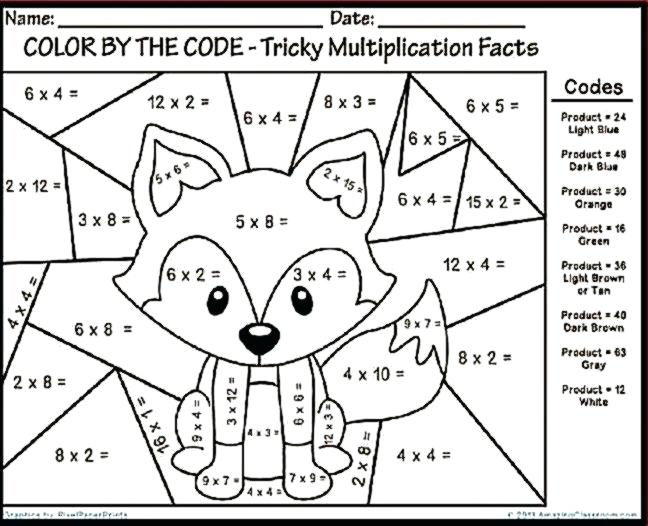 Math Coloring Pages Math Multiplication Coloring Worksheets