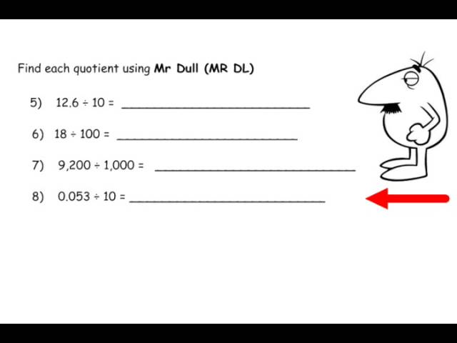 Math Lesson Review
