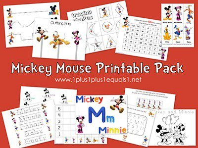 Mickey Mouse Printable Pack