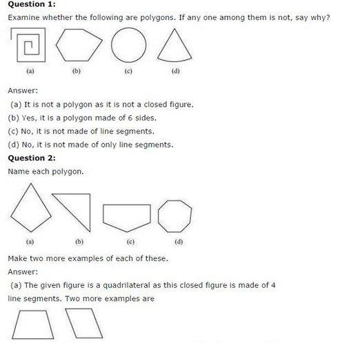 Ncert Solutions For Class 6 Maths Understanding Elementary Shapes