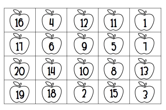 Number Recognition Worksheets 1 20 Free Worksheets Library