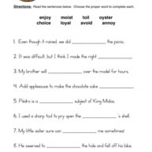 Oy Worksheets Free Worksheets Library