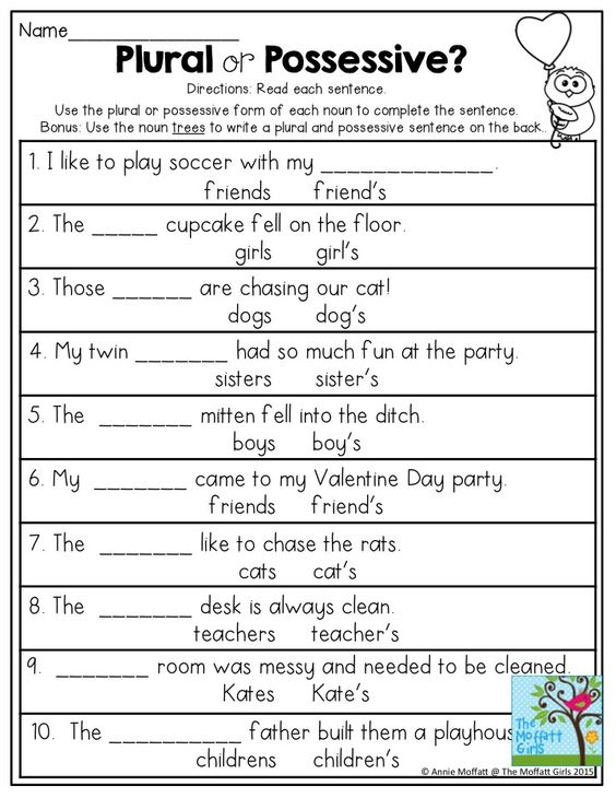 Possessive Nouns Worksheets 1st Grade Stay At Hand. Possessive Nouns Worksheets 1st Grade Kidz Activities. Worksheet. Possessive Nouns Worksheets At Mspartners.co