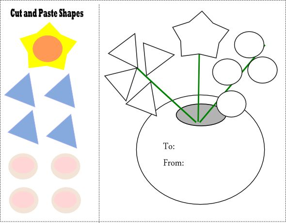 Preschool Cut And Paste Worksheets Free Worksheets Library