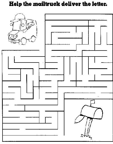 Printable Activity Sheets For 5 Year Olds Free Printable Mazes For