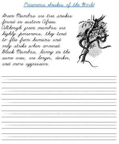 Printable Cursive Handwriting Worksheets Free Worksheets Library