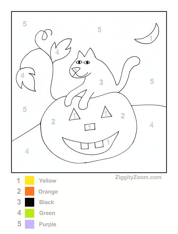 Printables   Halloween Worksheets For Kids – Fun For Christmas