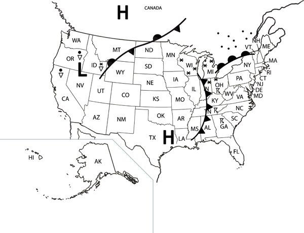 Reading Weather Maps Worksheets Free Worksheets Library