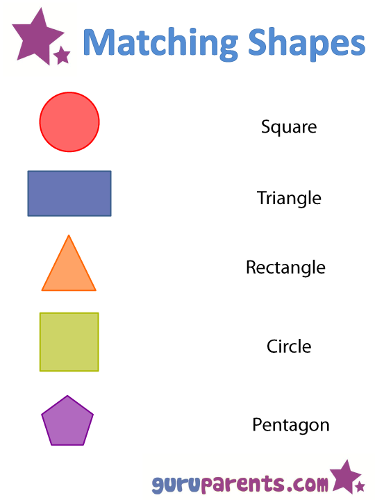 Shapes Worksheets And Flashcards