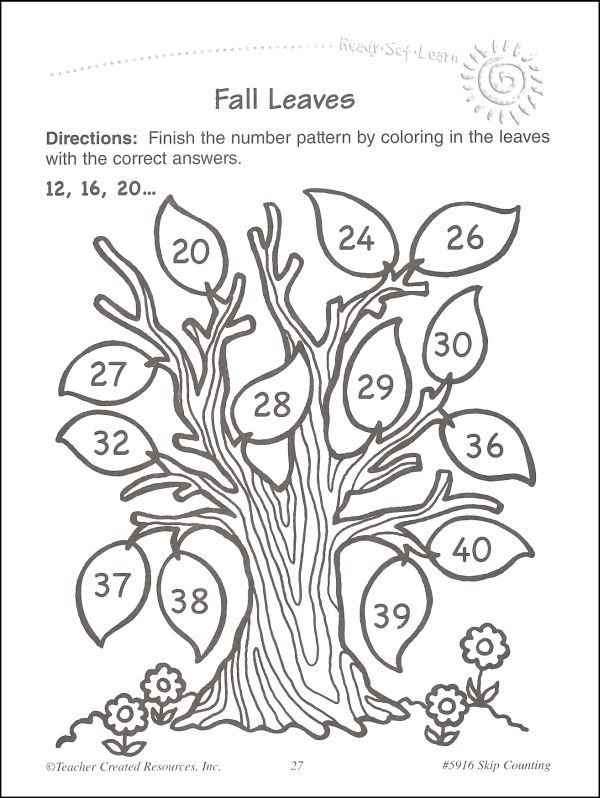 Skip Counting (ready, Set, Learn) (025527) Details