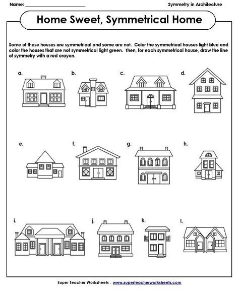 symmetry art worksheets. Black Bedroom Furniture Sets. Home Design Ideas
