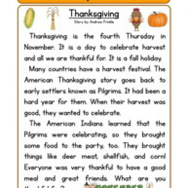 Thanksgiving Worksheets For Second Grade Free Worksheets Library