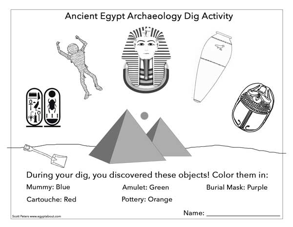 Things You Find In An Egyptian Tomb