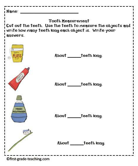 Tooth Measuring