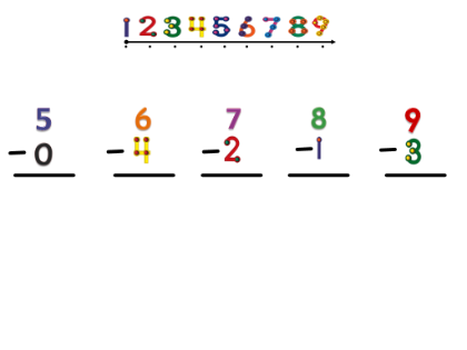 Touch Math Subtraction Worksheets Free Worksheets Library