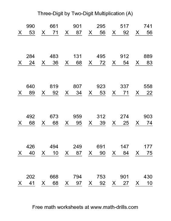 Two Digit Numbers Worksheets