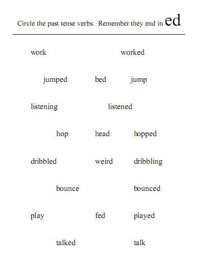 Verbs And Verb Tense