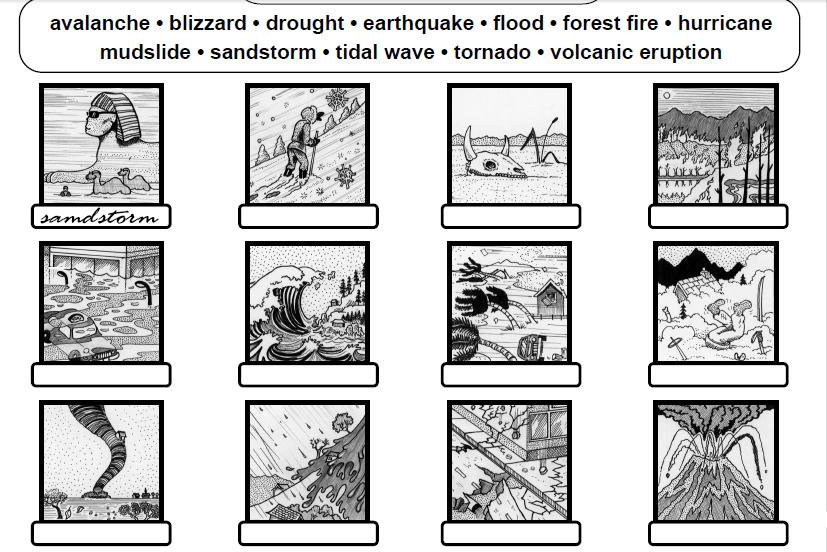 Weather Worksheet  New 180 Weather Disaster Worksheets