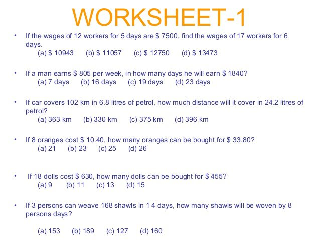 Worksheets For All