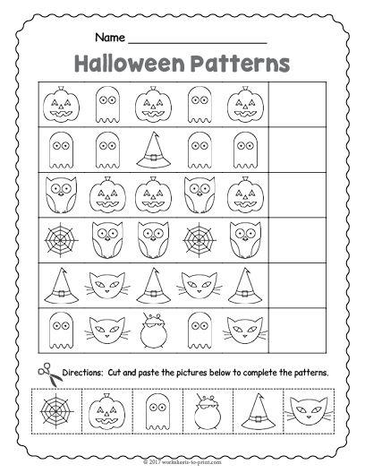 17 Best Halloween Worksheets Images On Free Worksheets Samples