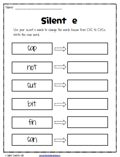 17 Best Images About Phonics Fun On Free Worksheets Samples