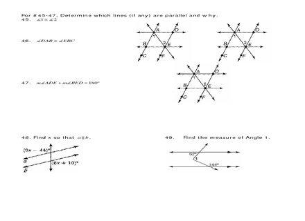 18 10th Grade Geometry Worksheets, Free Printable Geometry
