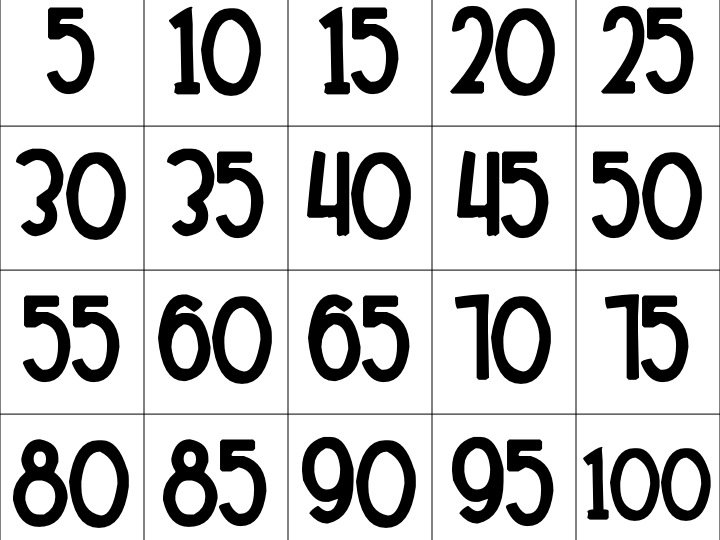 1st Grade Counting