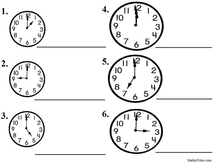 22 Best Telling Time Printables Images On Free Worksheets Samples