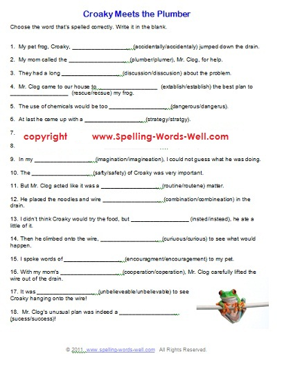 6 Grade English Worksheets Free Worksheets Library