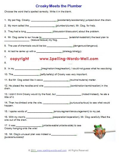 6 Grade English Worksheets Free Worksheets Library