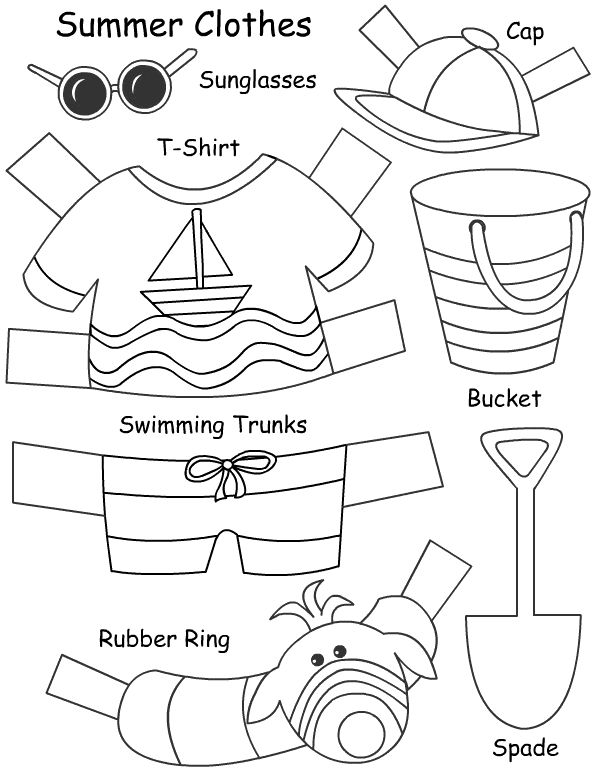 72 Best Clothes Images On Free Worksheets Samples