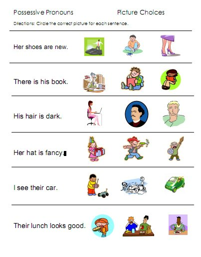 A Variety Or Work Sheets For Opposites, Pronouns, Prepositions