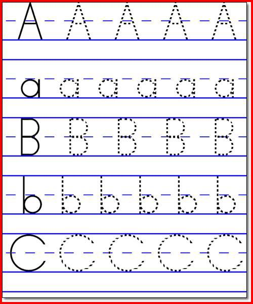 Abc Worksheets Free Worksheets Library