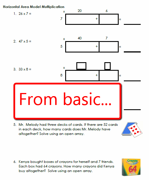 Area Model Multiplication Lesson