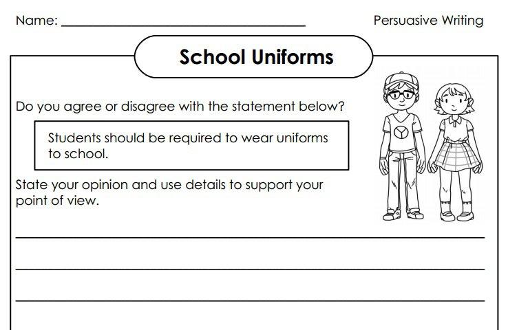 Argument Essay On School Uniforms Essay In School Uniforms