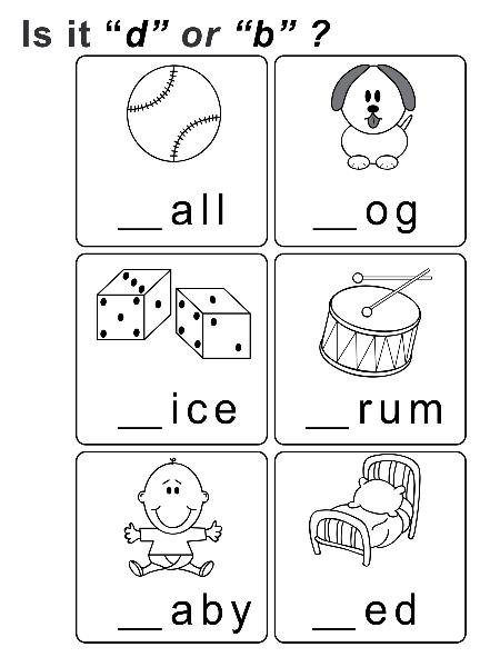 B And D Worksheet