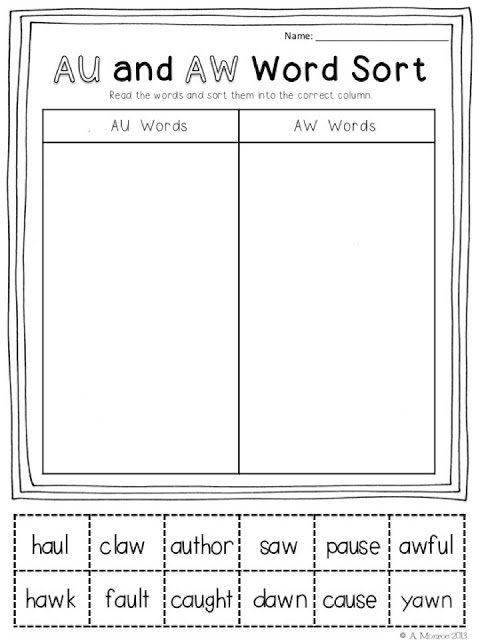 Best 25+ Aw Words Ideas On Free Worksheets Samples