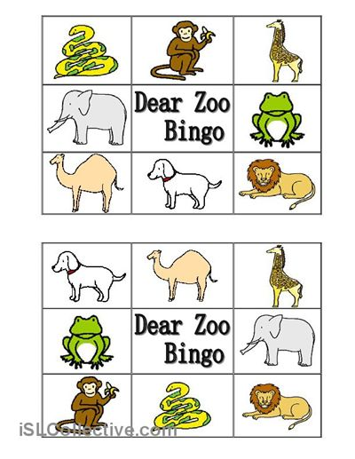Best 25+ Dear Zoo Book Ideas On Free Worksheets Samples