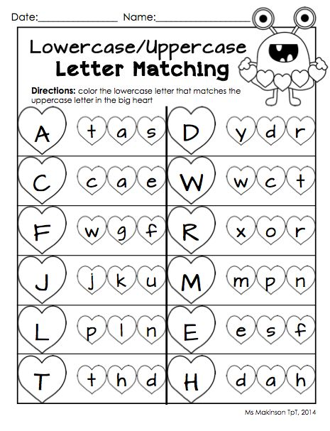 Best 25+ Letter Matching Ideas On Free Worksheets Samples