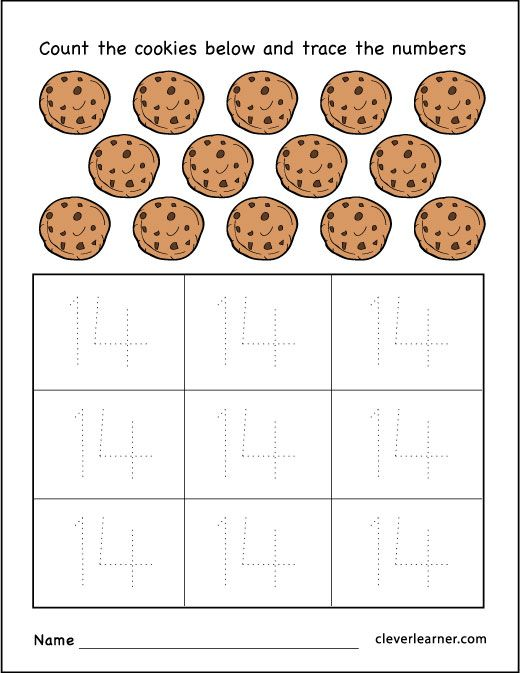 Best 25+ Number 14 Ideas On Free Worksheets Samples