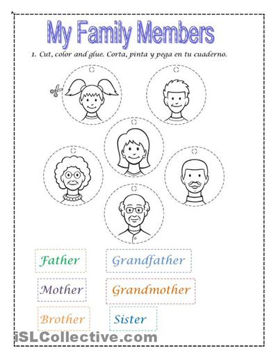 Benny The Badger - Poems for Children Family Members Worksheets For ...