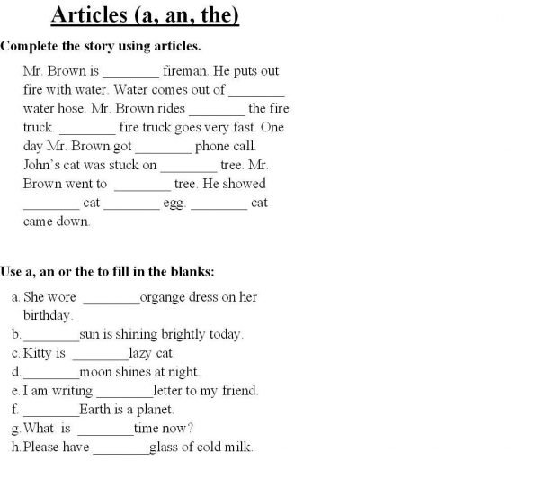 Bunch Ideas Of English Class 2 Worksheets With Additional Free. Leave A Reply Cancel. Worksheet. A An Worksheets At Mspartners.co