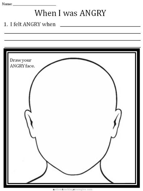 Cbt Children's Emotion Worksheet Series  7 Worksheets For Dealing