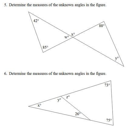 Charming Interesting Worksheet Triangle Sum And Exterior Angle